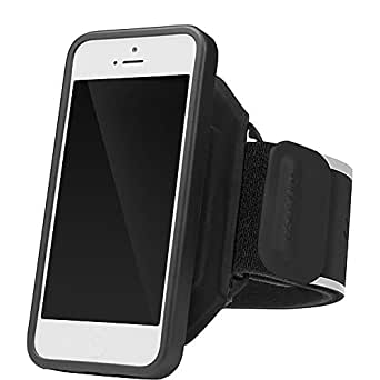 Incase Sports Armband Deluxe for iPhone 5 - Black/Sliver