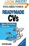 Readymade CVs: Sample CVs for Every Type of Job