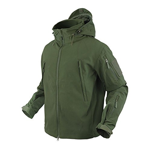 Condor Outdoor COP-602-001-XXL Summit Softshell Jacket, OD Green - 2XL (Condor Insulated compare prices)
