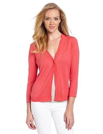(2.9折)彭得顿Pendleton Women's Balmy Days Cardi Sweater女款亚麻棉百搭开衫$28.48