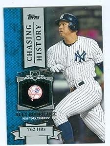 Alex Rodriguez baseball card (New York Yankees) 2013 Topps Chasing