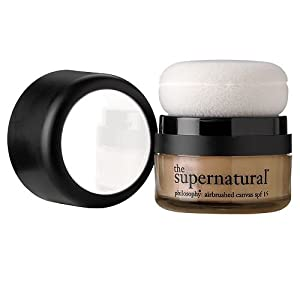 philosophy the supernatural airbrushed foundation, bronze spf 15 .32 oz (9.1 g)