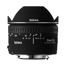 Sigma 15mm f/2.8 EX DG Diagonal Fisheye Lens for Minolta and Sony SLR Cameras