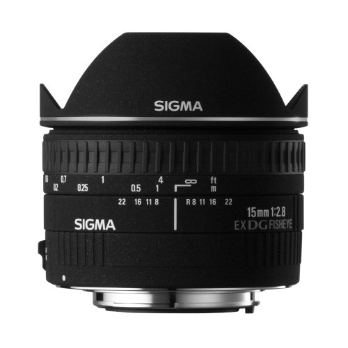 Sigma 15mm f2.8 Diagonal Fisheye For Nikon Digital  &  Flim SLRCameras