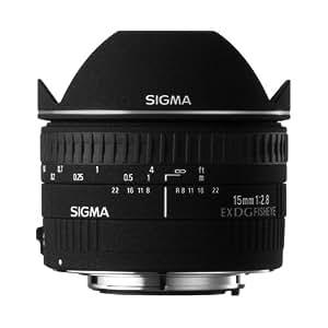 Sigma Objectif Fisheye 15 mm F2,8 EX DG Diagonal - Monture Canon