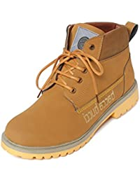 Bacca Bucci Men Tan Synthetic Leather Boots
