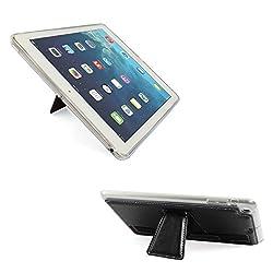 DMG Premium TPU Skin with PU Leather Hand Holder Cover Case For Apple iPad Mini / Mini 2 / Mini 3 (Black)