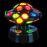 "5"" Rotating UFO Shaped Disco Light"