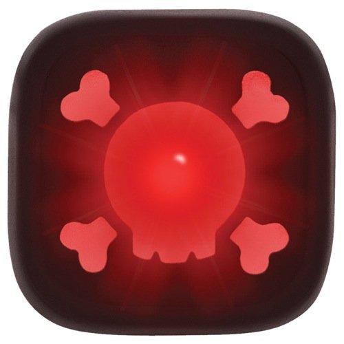 Knog Lampe Blinder 1 Skull rote LED, Black, 11305KN