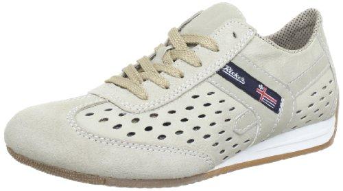 Rieker  L9026-61,  Sneaker donna, Beige (Beige (nebel/muschel/champignon 61)), 41