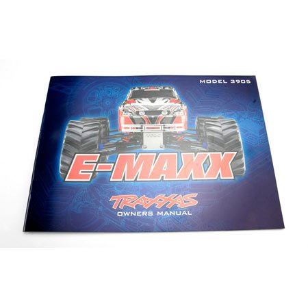 Traxxas 3999R Owners Manual E-Maxx Model 3905
