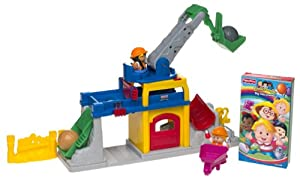 Little People Fun Sounds Crane and Quarry