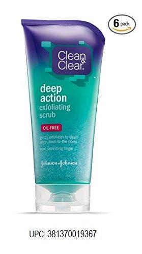 Clean & Clear Clean & Clear Deep Action Exfoliating Scrub Oi