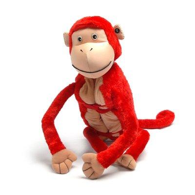 Imagen de Zoobies juguete de felpa, Mashaka The Monkey
