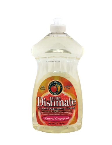 Dishmate Dish Liquid, Grapefruit, 25 oz. This multi-pack contains 3.