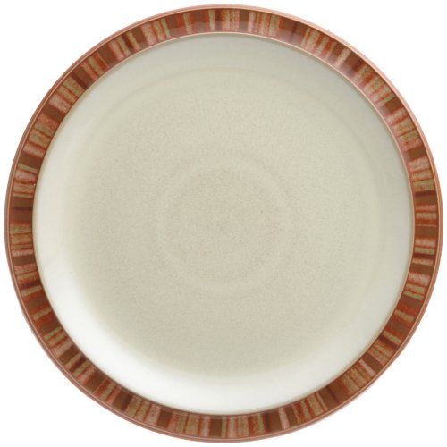 Denby Fire Stripes Dessert/Salad Plate