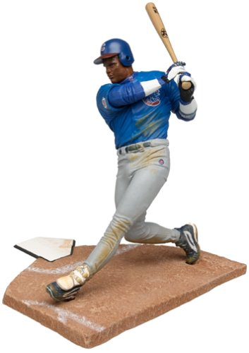 McFarlane Toys MLB Sports Picks Series 1 Action Figure Sammy Sosa (Chicago Cubs) Blue Jersey - 1