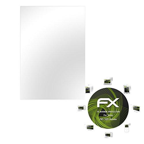 atFoliX Displayschutz Sony PRS 505 Reader Spiegelfolie - FX-Mirror mit spiegeleffekt