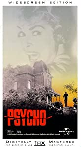 Psycho (Widescreen Edition) [VHS]