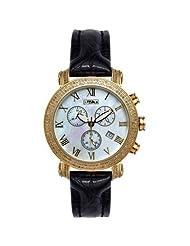 Joe Rodeo Diamond Watch 1.75ct White MOP Yellow Gold