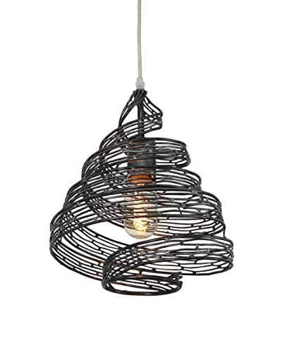 Varaluz Flow 1-Light Mini Wrapped Pendant, Steel