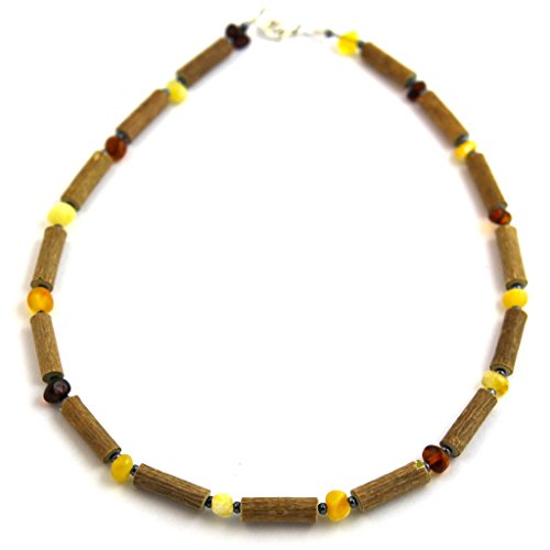 "Hazelaid (TM) Child Hazelwood-Amber Necklace - 11"" Multicolored - 1"
