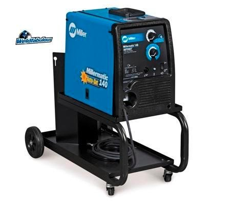 Millermatic 140 with Auto-Set MIG Welder, 1- Phase, 30 - 140 A Type: W/RUNNING GEAR/CYLINDER