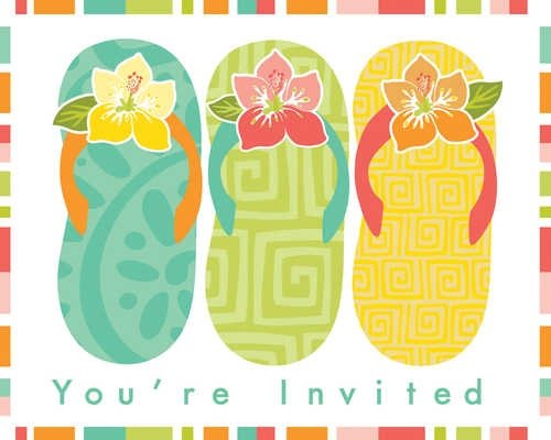 Paradise Cove Invitations