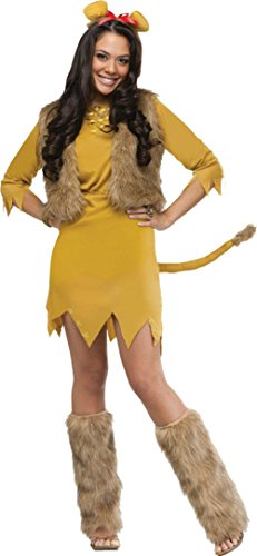 Funworld Womens Lion Theme Party Fancy Dress Animals Costume