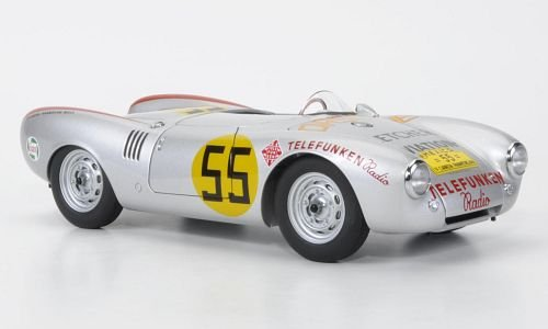 Imagen principal de Porsche 550 Spyder, No.55, Panamericana , 1954, Modelo de Auto, modello completo, AutoArt 1:18