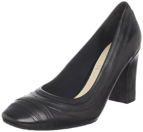 Rockport Women's Helena Pinked Pump Black Decorative K58758 6 UK