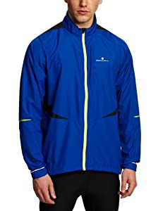 Ronhill Men's Advance Windlite Jacket - Colbalt/Kiwi, X-Large (Old Version)