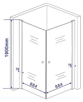 o cabine de douche douche banho 100 x 100 x 195 cm bac bac inclus bricolage m80. Black Bedroom Furniture Sets. Home Design Ideas