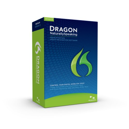 Dragon NaturallySpeaking Premium 12, English  2-User Pack