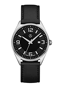 Mercedes Benz Men's C-Class Watch with Leather Bracelet
