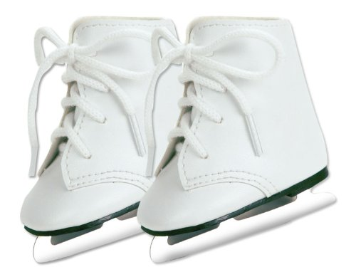 Doll Ice Skates, Fits 18 Inch American Girl Dolls