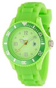 Ice-Watch Armbanduhr Sili-Forever Unisex Grün SI.GN.U.S.09