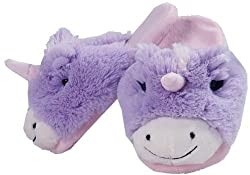 Pillow Pets Authentic Magical Unicorn Slippers Small Toy Gift Check Size Chart