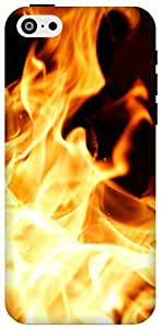 The Racoon song of fire hard plastic printed back Case for Apple Iphone 5c