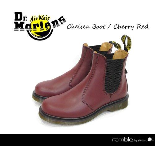 【Dr.Martens ドクターマーチン】サイドゴアブーツ 2976 CHELSEA チェリーレッド (11853600)