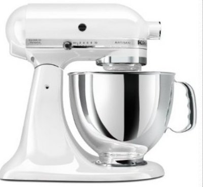 KitchenAid Artisan 5 qt. Stand Mixer - White