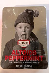 Altoids Peppermint Christmas Story Gift Tin Limited Edition 5 Oz (142 G)