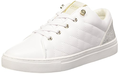 Guess Jollie, Scarpe Low-Top Donna, Bianco, 35 EU