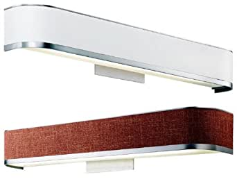 Long Bathroom Vanity Lights : Kichler 10423 Pira Fabric Shade 25 Inch Long Bathroom Vanity Light - - Amazon.com