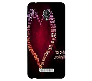 Perfect print back cover for Micromax Canvas SPARK Q380