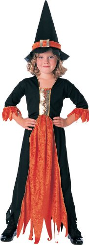 Rubie's Costume Co Girls Rubies Gothic Witch Costume