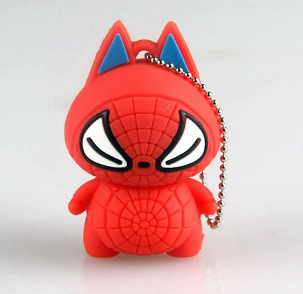 8gb Baby Spider Cat Novelty Cute Pussy Cartoon Gift Doll Figure Usb 2.0 High Speed Soft Silicon Flash Memory Pen Drive Disk Stick Shockproof (8gb 05-104) Picture