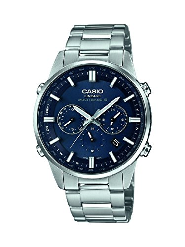 Casio Lineage Radio-Controlled Solar Mens Watch LIW-M700D-2AER
