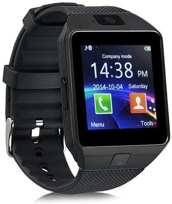 OPTA SW-005(Black/Black) Bluetooth Smart Watch Phone With Camera and Sim Card Support With Apps like Facebook and WhatsApp Touch Screen Multilanguage Android/IOS Mobile Phone Wrist Watch Phone with activity trackers and fitness band features compatible with Samsung IPhone HTC Moto Intex Vivo Mi One Plus and many others! Launch Offer!!