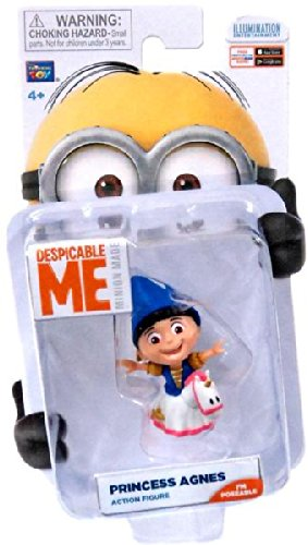 Despicable Me Minion Made Poseable 2 Inch Action Figure Princess Agnes